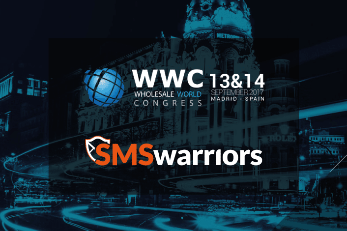 SMSwarriors at Wholesale World Congress