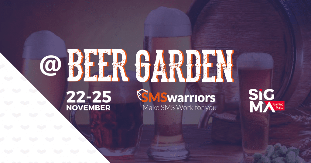 SMSwarriors Beer Garden SiGMA 2017