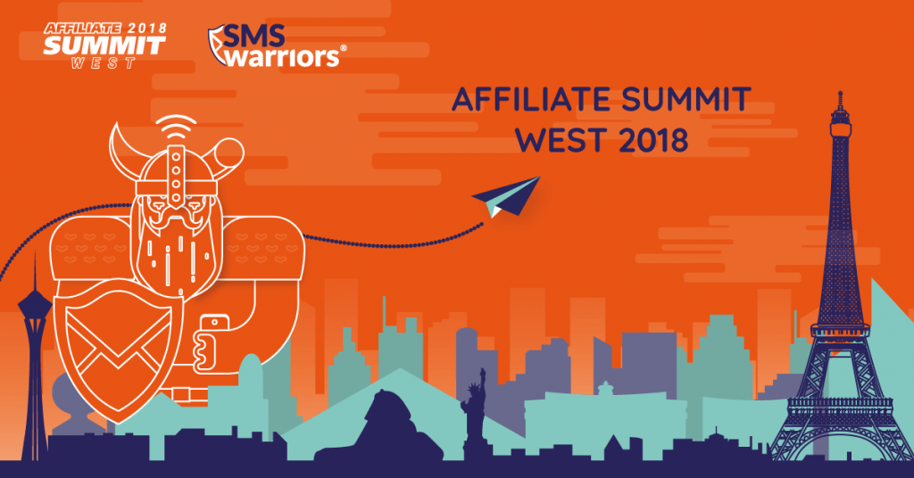 SMSwarriors Meet us at Affiliate Summit West 2018
